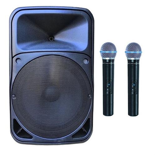 Gold Audio Pro 5415EE Taşınabilir Ses Sistemi Çift El Mikrofonlu