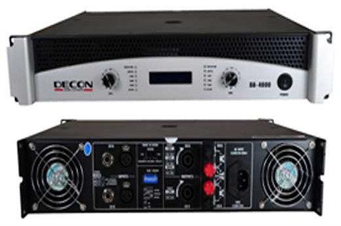 Decon DA-9000 2x1700W 4 ohm Power Anfi