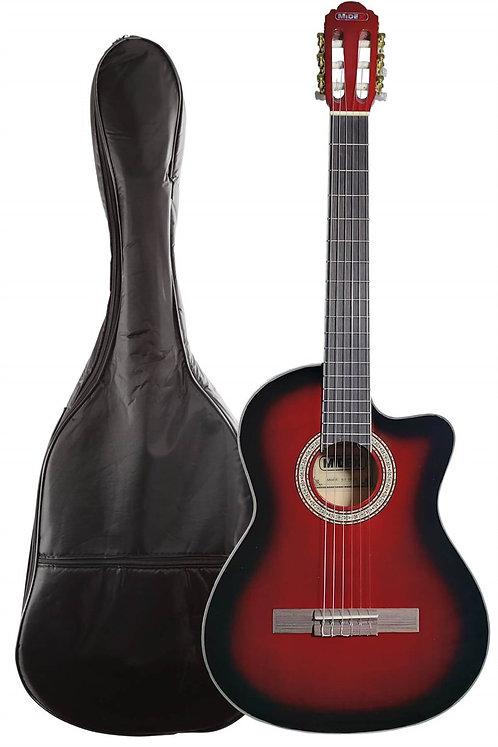Midex MGX-100CRD Üst Seviye Klasik Gitar 4/4 Sap Ayarlı Gül Klavy
