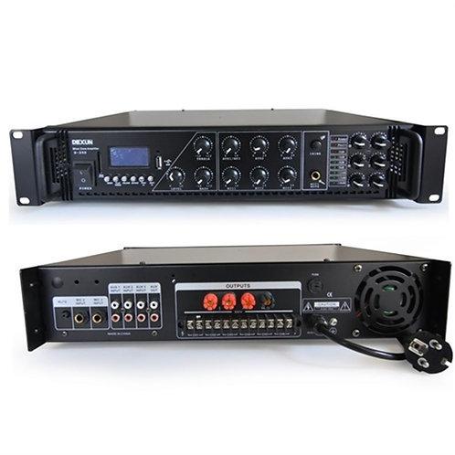 Dexun D250 - 6 Bölgeli Anfi 250 Watt 100 Volt Trafolu