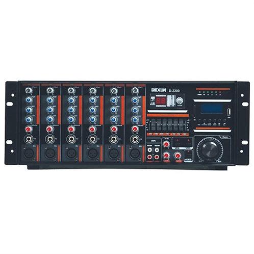 Dexun D2400 Cami Anfisi 400 Watt 100V/4-16 Ohm Usb SD Kart