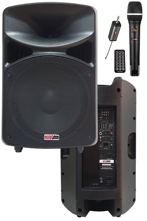 Lastvoice RPX-15ATX Mikrofonlu Aktif Kabin Hoparlör 15'' 800W (Bluetooth USB)