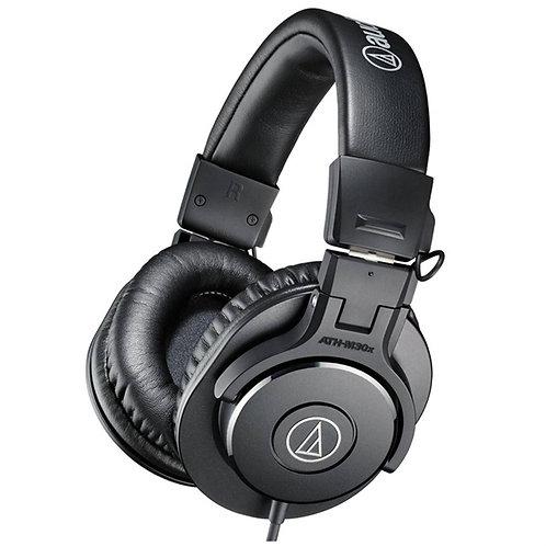 Audio-Technica ATH-M30X Profesyonel Stüdyo Kulaklık