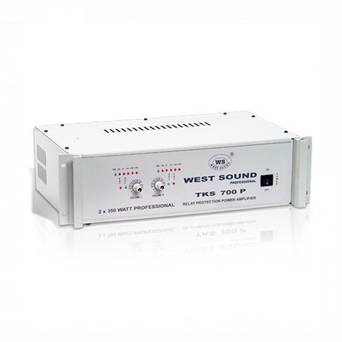 West Sound Tks 700P Stereo Güç Amplifikatörü 2X350 Watt