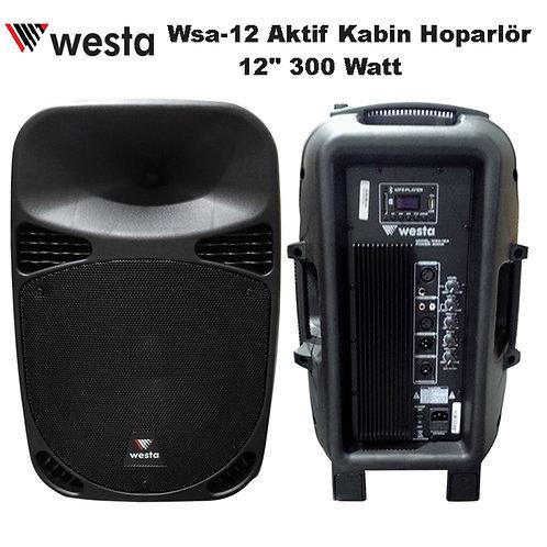 Westa Wsa-12A Aktif Kabin Hoparlör 12'' 300 Watt