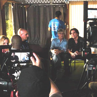 Franco plays AA meeting leader with Eric Roberts in Downside of Bliss