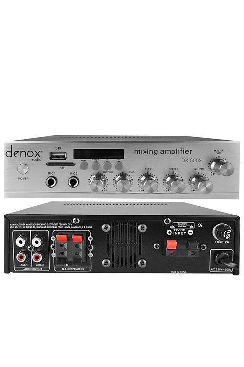 Denox Astron Dx-505s Stereo Anfi 2x50 Watt Usb Sd Kart