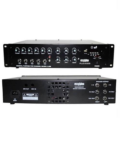 Lastvoice Plus-6500 Stereo Çift Trafolu 2x250 Watt Mikser Anfi