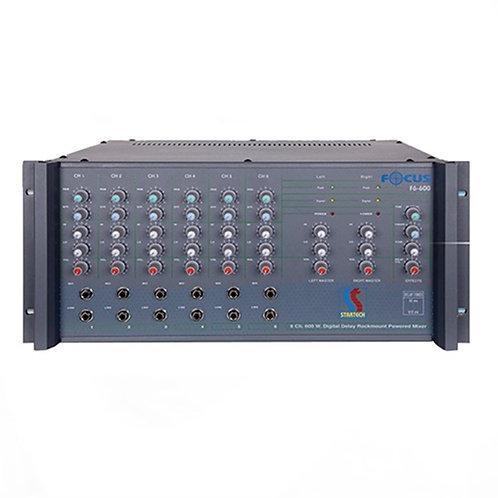 Startech Focus F 8/600 Power Mikser Amfi 2X300 Watt