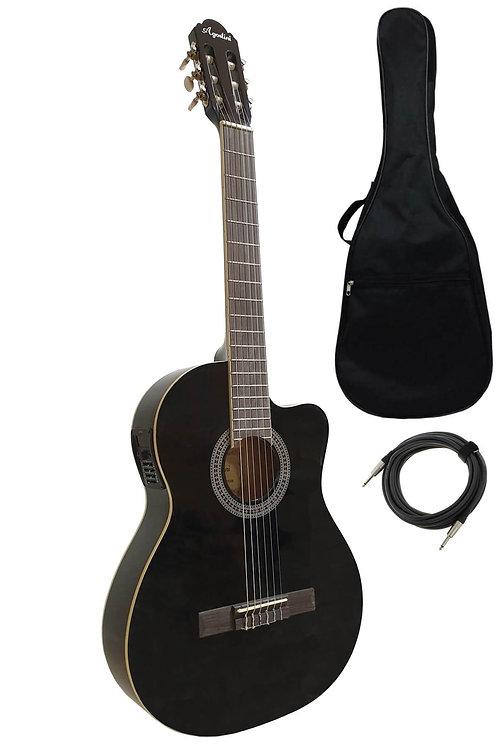 Midex Agostini HG-39T İnce Kasa Sahne Elektro Klasik Gitar (Ekolayzer'li)