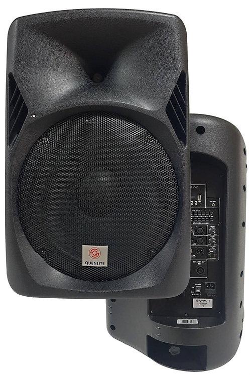 Quenlite QX-1000P Bluetooth Usb EQ Aktif Kabin Hoparlör 15 İnç 1000 Watt