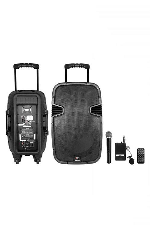 Westa Wap-25502ET Taşınabilir Hoparlör Ses Sistemi 600 Watt
