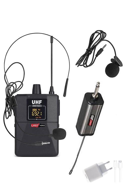 Lastvoice Tx-101Y Çok Amaçlı Uhf Kablosuz Yaka Mikrofonu