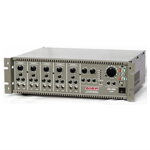 Atak ER-406 Anfi 400 Watt Ekho Reverb USB