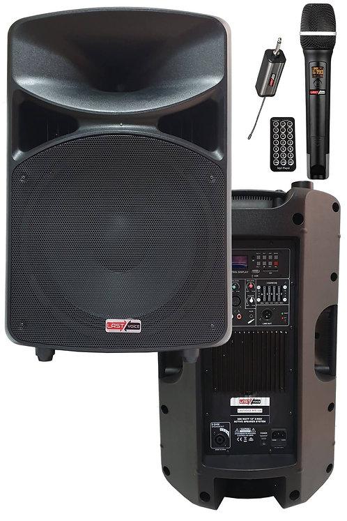 Lastvoice RPX-12ATX Mikrofonlu Aktif Hoparlör 12'' 600W (Bluetooth USB)
