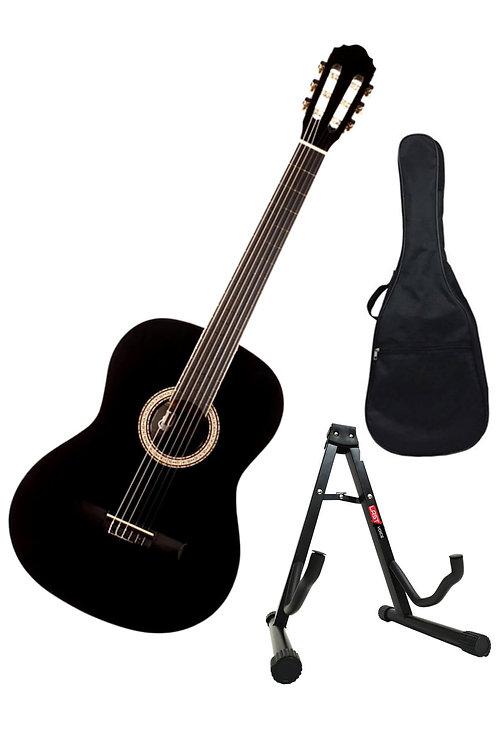 Toledo LC-3900 Pak Stand ve Kılıflı Klasik Gitar Seti