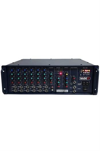 Midex MC-405 Hat Trafolu Power Mikser Anfi 400 Watt Usb Ekho