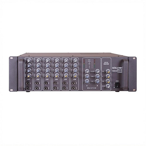 Mikafon B8560 2x500 Watt Power Mikser Amplifikatör