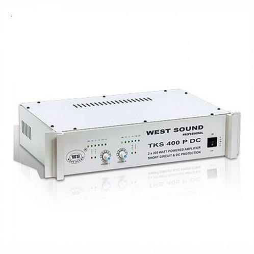 West Sound Tks 600P 12 Volt Stereo Güç Amplifikatörü