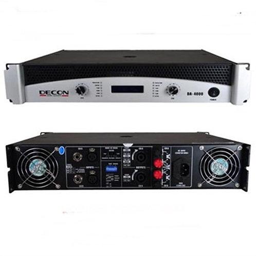 Decon DA-6000 Power Anfi 2x850 Watt