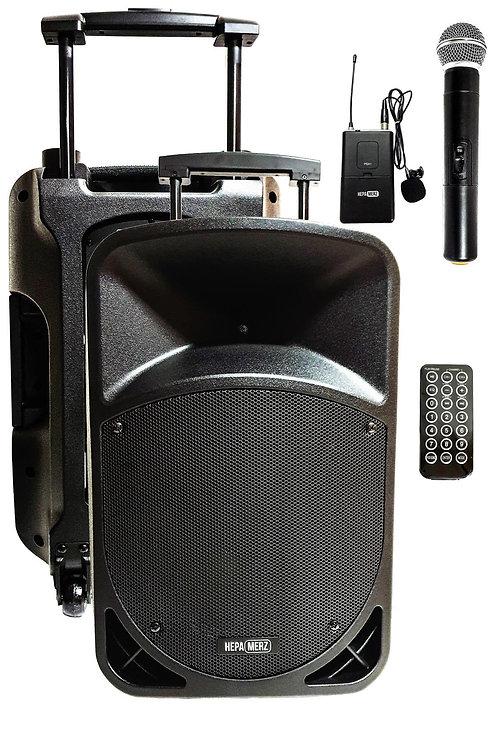 Hepa Merz HS-800EY Taşınabilir Hoparlör Ses Sistemi 800 Watt