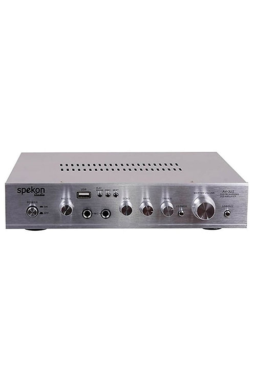 Spekon Av-320 Stereo Anfi 2x50 Watt Usb Sd Kart