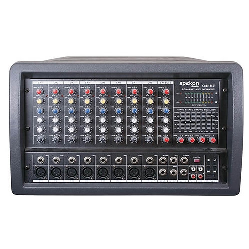 Spekon Cube-88 Power Mikser Amfi 2x300 Watt