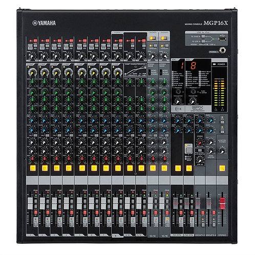 Yamaha Mgp16x - 16 Kanal Çift Efekt Ses Mikseri