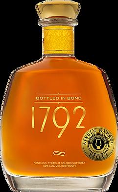1792 Bottled in Bond single barrel select WHA