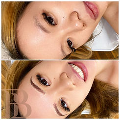 Microblading shading eyebrow tattoo permanent makeup last forever