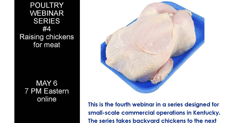 Small-Scale Commercial Production Poultry Webinar