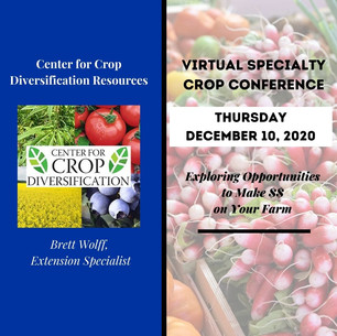 Center for Crop Diversification Resources