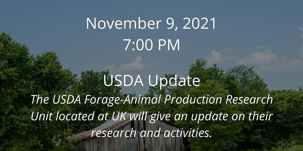Beef Webinar Series: USDA Update