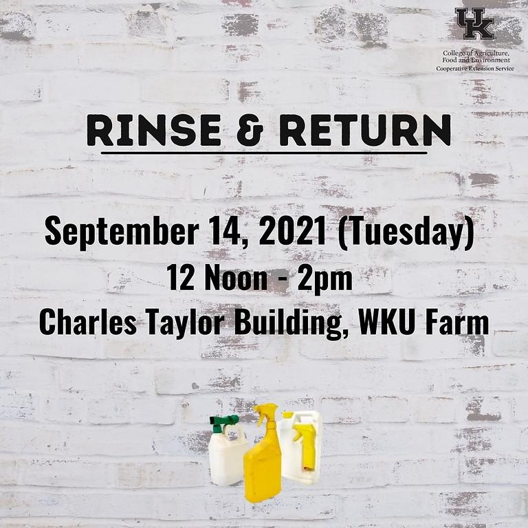 Rinse & Return Program