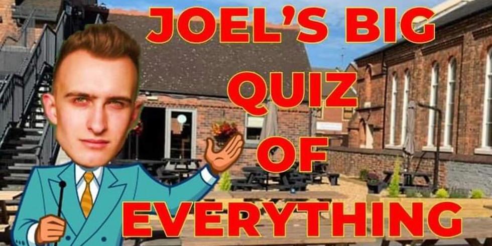 Joel's Big Outdoor Quiz of Everything