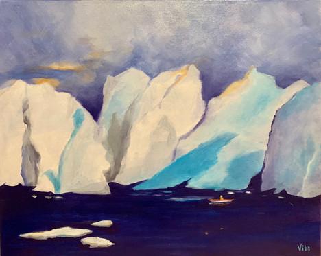 Greenland Ice Glaciers