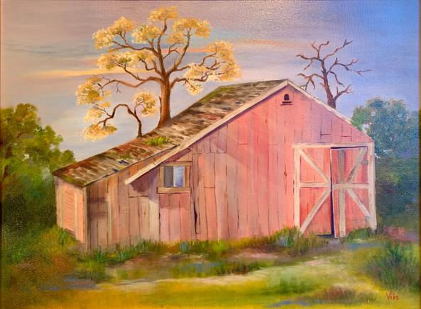Old Barn in Woodside