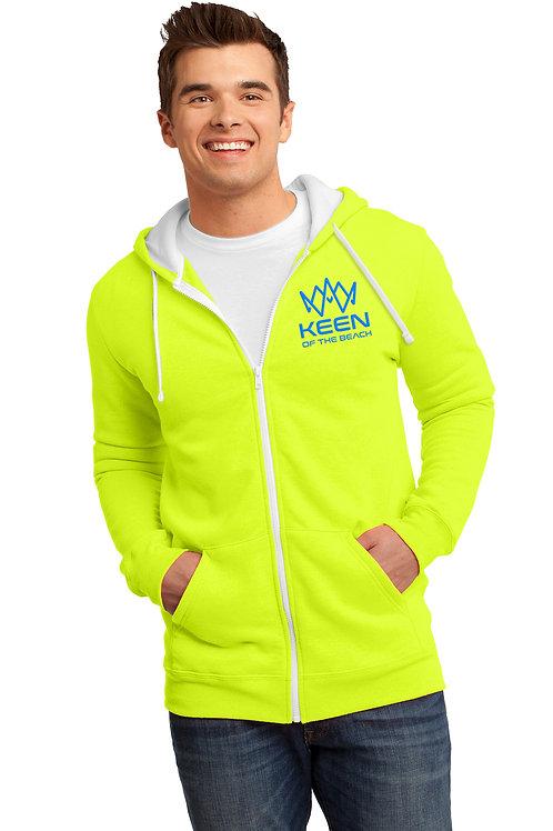 Neon Full-Zip Hoodie