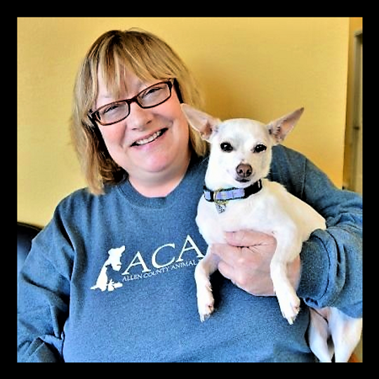 Janice and Pepper adoption day april 23