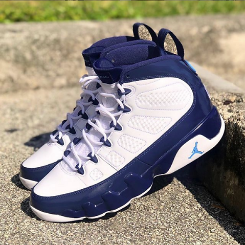 5311eed07f3775 The UNC 9 All-Star releases at the top of this February 2019. The Jordan 9  is among many other Jordan Brand releasing this month