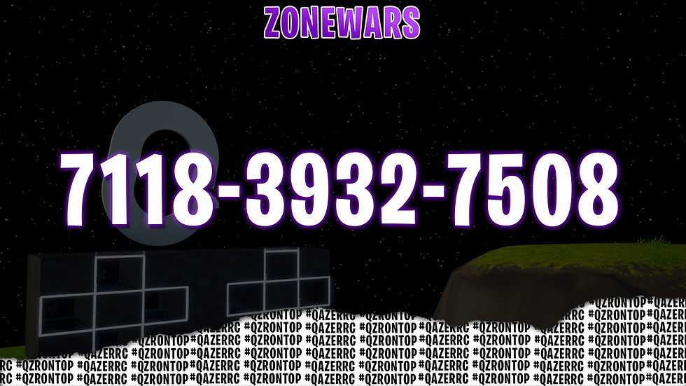 ZoneWars map code.jpg