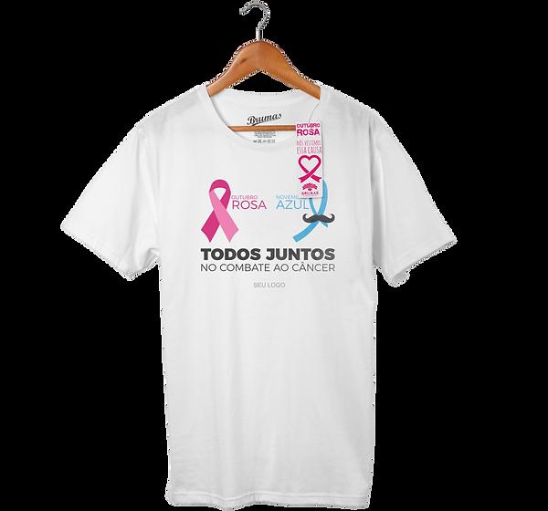 Camisetas Outubro Rosa Campinas SP