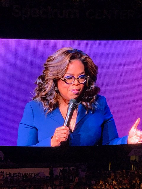 The Year of Transformation- Oprah 2020 Vision Tour- Charlotte, NC