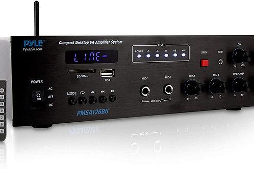 Wireless Bluetooth Public Address Amplifier - 500W - Pyle PMSA126BU