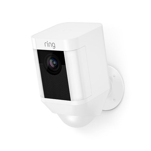 Ring Spotlight Cam Battery HD Security Camera with Built Two-Way Talk and a Sire