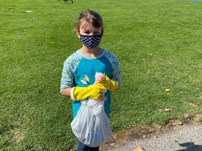 Community Kids Cleaned The Creek. Woohoo!