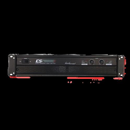 Amplificador De Audio Backstage Cs-20000  2 Canales 1960 Wts