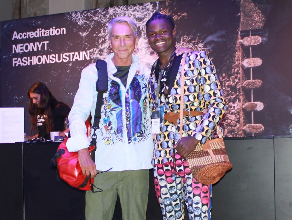 Sustainable fashion from Africa meets Wolfgang Joop