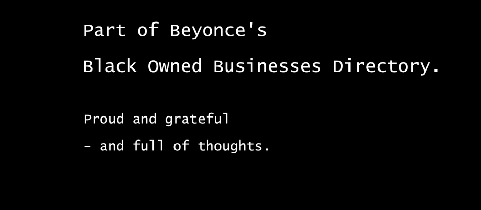 Why we are proud of Beyoncé promoting our work - and can't just celebrate.