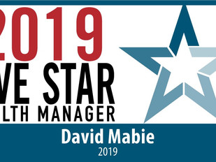 DAVID MABIE NAMED FIVE STAR MANAGER